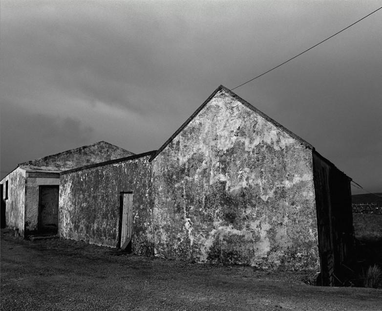 The Big Sky Old Dance Hall, Archival Silver Gelatin print, edition 20, 40X50 cm, 2012