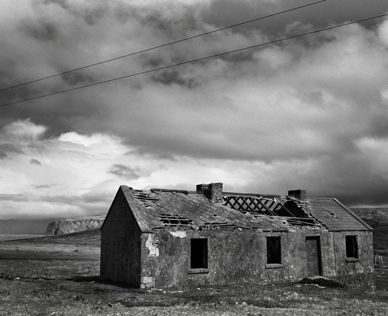 The Big Sky Tom's Old House, Archival Silver Gelatin print, edition 20, 40X50 cm, 2012