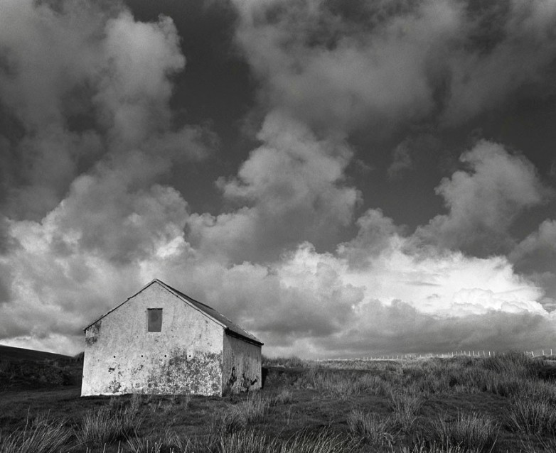 The Big Sky White Stable, Archival Silver Gelatin print, edition 20, 40X50 cm, 2012