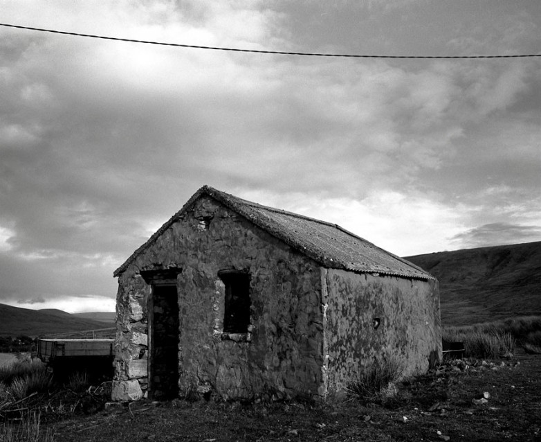 The Big Sky Old Stable, Archival Silver Gelatin print, edition 20, 40X50 cm, 2012