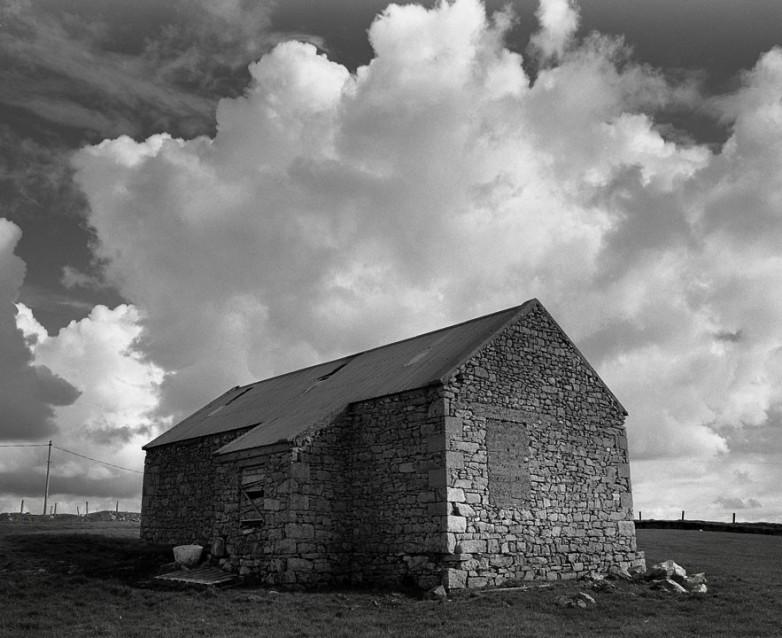 The Big Sky Stone Barn, Archival Silver Gelatin print, edition 20, 40X50 cm, 2012