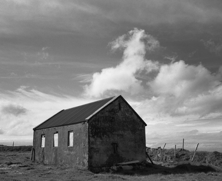 The Big Sky Terry's Old Stable, Archival Silver Gelatin print, edition 20, 40X50 cm, 2012
