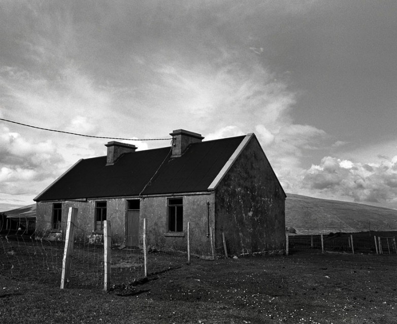The Big Sky Lamb's House, Archival Silver Gelatin print, edition 20, 40X50 cm, 2012