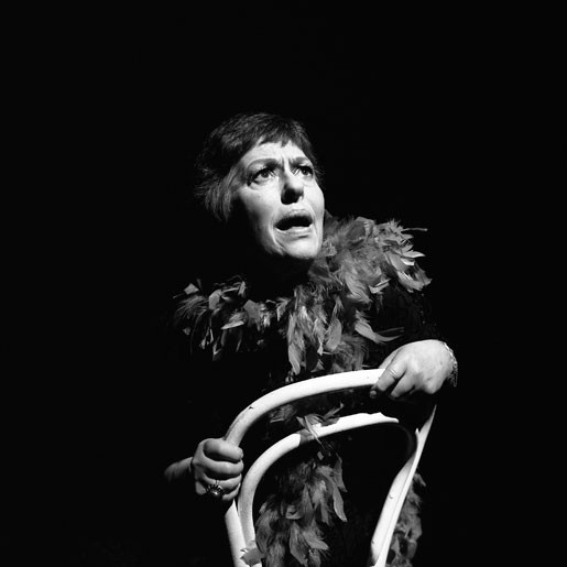 Agnes Bernelle Agnes Bernelle, Actor, Project Arts Centre , Dublin, 1980's