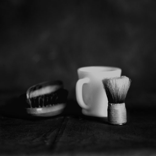 Loss and  Memory Shaving Brush