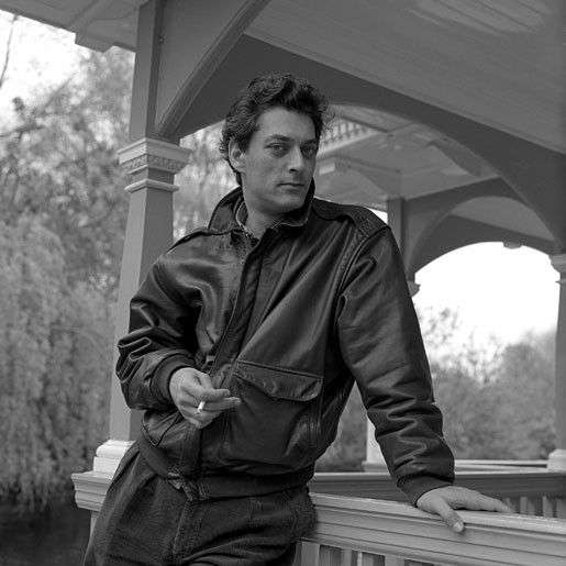Paul Auster Paul Auster, Author, St Stephens Green, Dublin, 1989