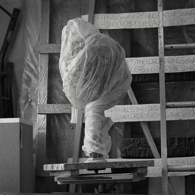 RHA Portraits Imogen Stuart RHA, Wapped Sculpture