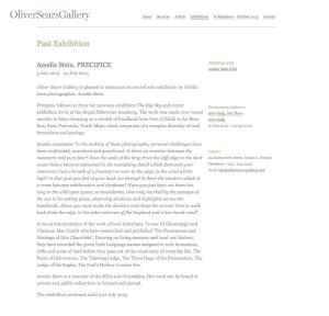 Oliver Sears PRECIPICE