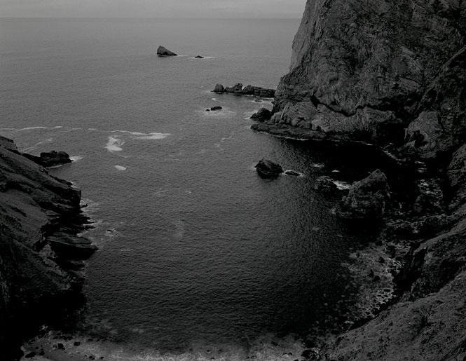 Na Príosúin Na Príosúin, Ceathrú na gCloch, The Príosúin cove with geological formations of ancient rock foldings. According to local tradition the location of the wreck of a boat.