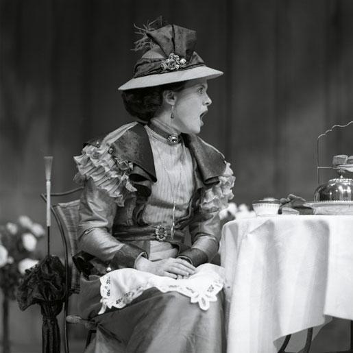 Alison McKenna Alison McKenna as Hon. Gwendolen Fairfax,