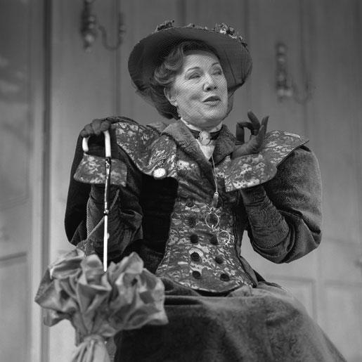 Ros Linehan Rosaleen Linehan as Lady Bracknell.